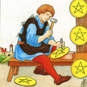 Eight Of Pentacles Yes Or No